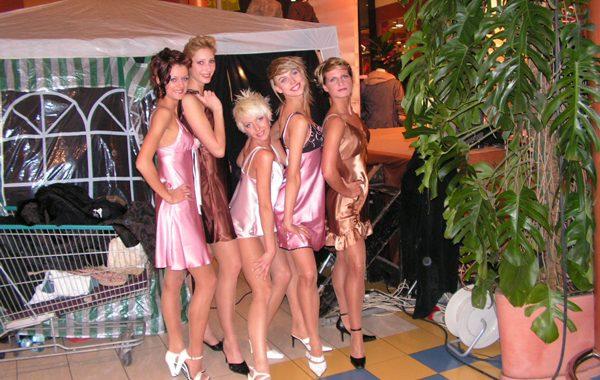 Pokaz mody w C.H. Platan