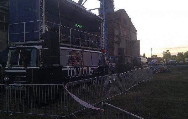 Red Bull Tourbus – nagłośnienie