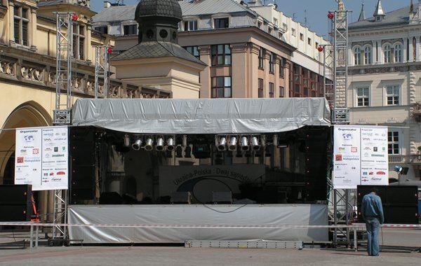 Rynek w Krakowie – 10 dniowy festiwal Polsko – Ukraiński